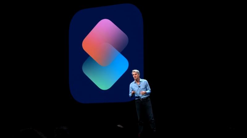 New products were announced at the WWDC2018 and Apple has been accused of stealing the logo for one of the new apps.