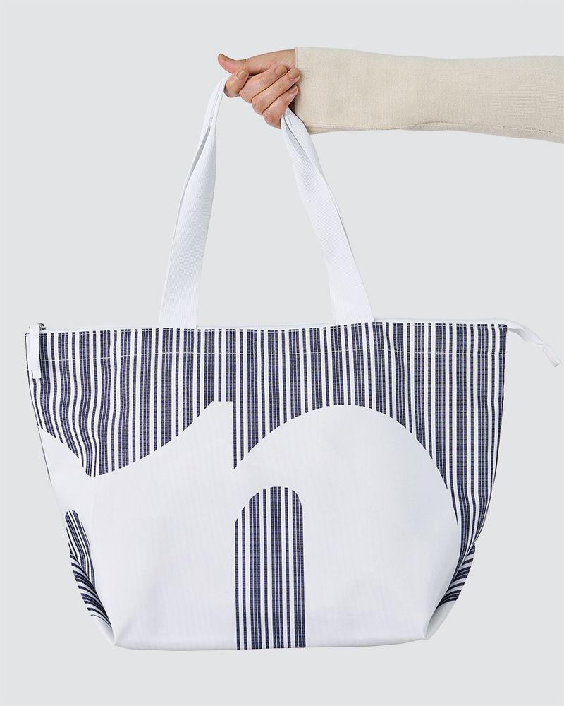 CASUAL SHOPPER BAG - WHITE
