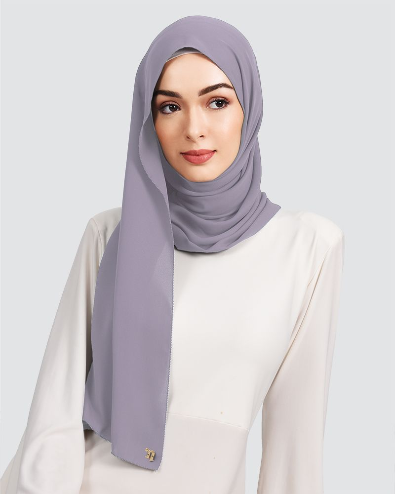 EILA - SMOKEY LAVENDER PURPLE-GREY