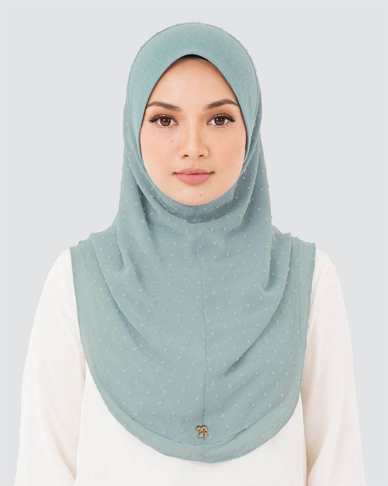 IRIS DENIM - MEDIUM LIGHT TURQUOISE