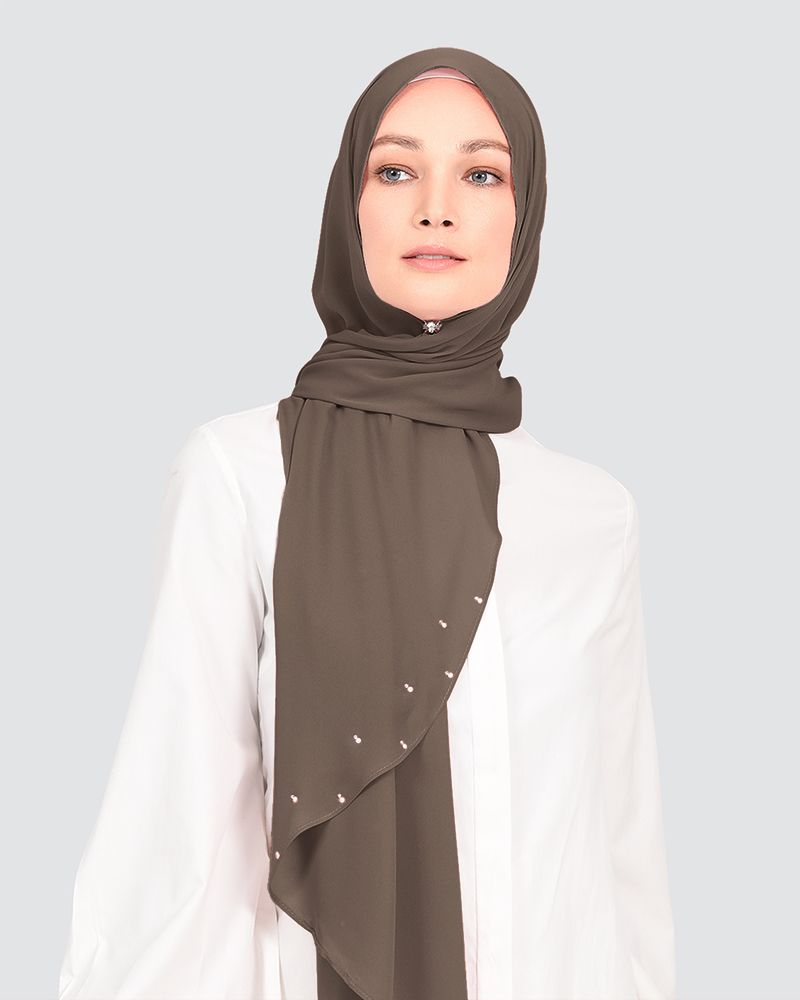 LADY WARDA - MEDIUM DUSTY CHOCOLATE