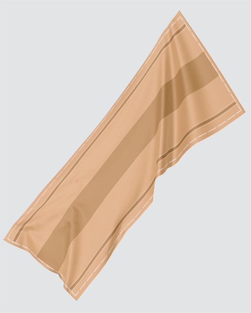AIRI PRINTED SHAWL - BRIGHT CLAYS