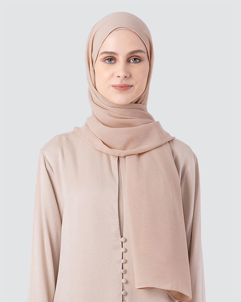 MILDA SHAWL - DUSTY WARM PEACH