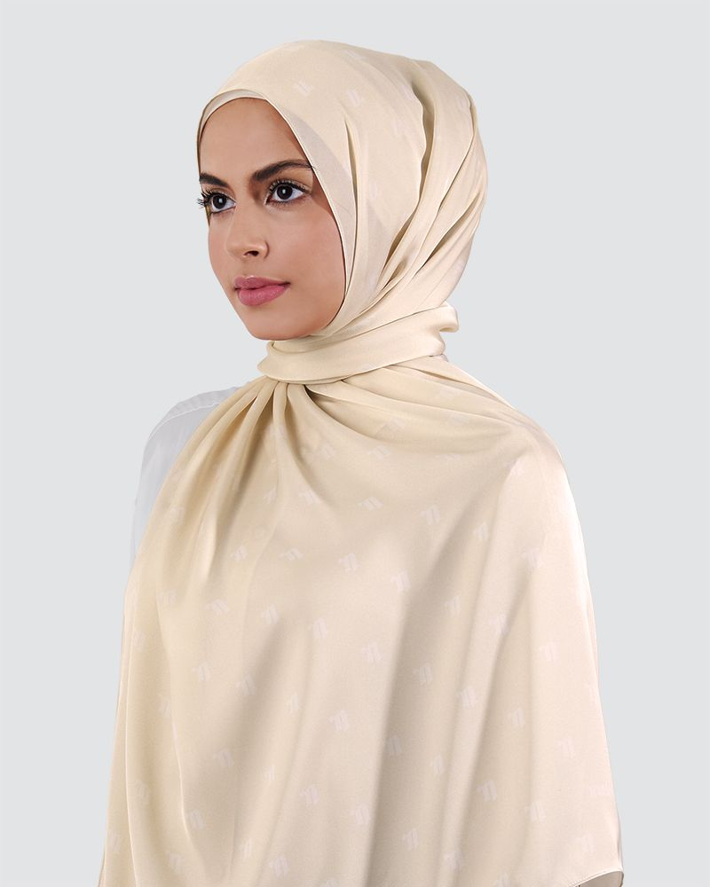 MODA SILKY SATIN - LIGHT CREAM