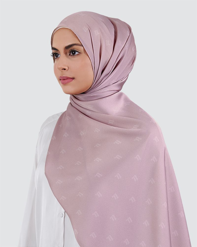MODA SILKY SATIN - LIGHT PINK-PURPLE