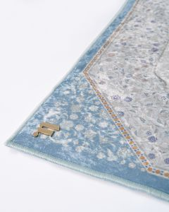 SALEMA SEJADAH - MEDIUM POWDERY BLUE