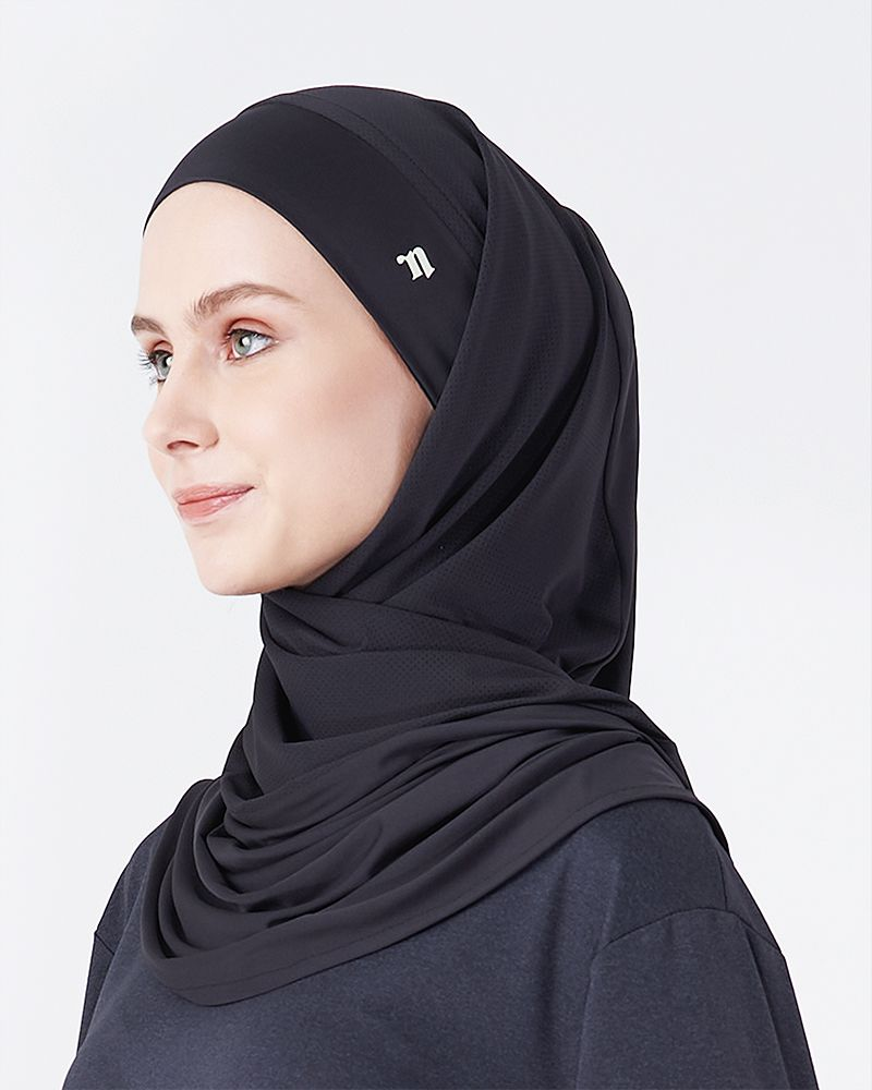 FLOW SHAWL - BLACK