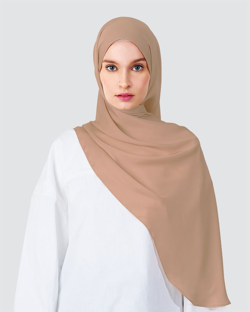 SWARA SHAWL - DUSTY WARM PEACH