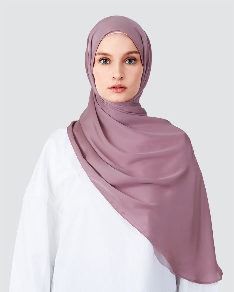 SWARA - MEDIUM DUSTY MAUVE-PURPLE