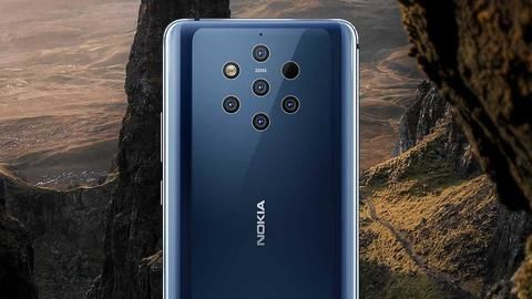 Apparently, Nokia 9 can be unlocked using chewing gum