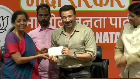 Sunny Deol joins BJP; likely to contest from Amritsar