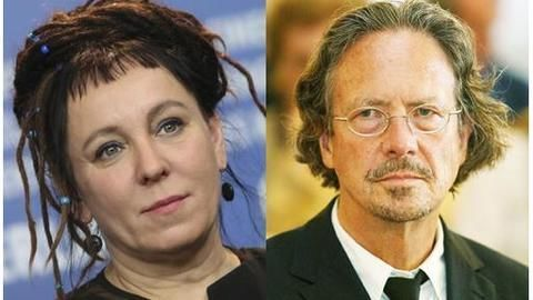 Nobel prize in literature: Olga Tokarczuk, Peter Handke win