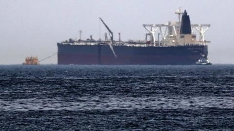 Iranian oil-tanker hit by missiles near Saudi, catches fire