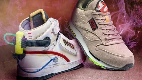 Wear Reebok's 'Ghostbusters' sneakers this Halloween