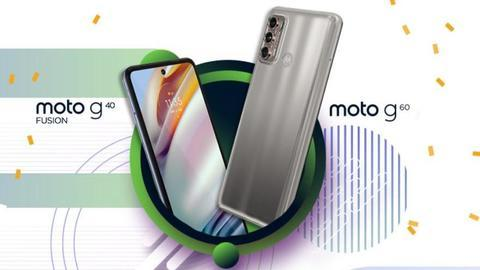 Moto G60 and Moto G40 Fusion handsets launched in India