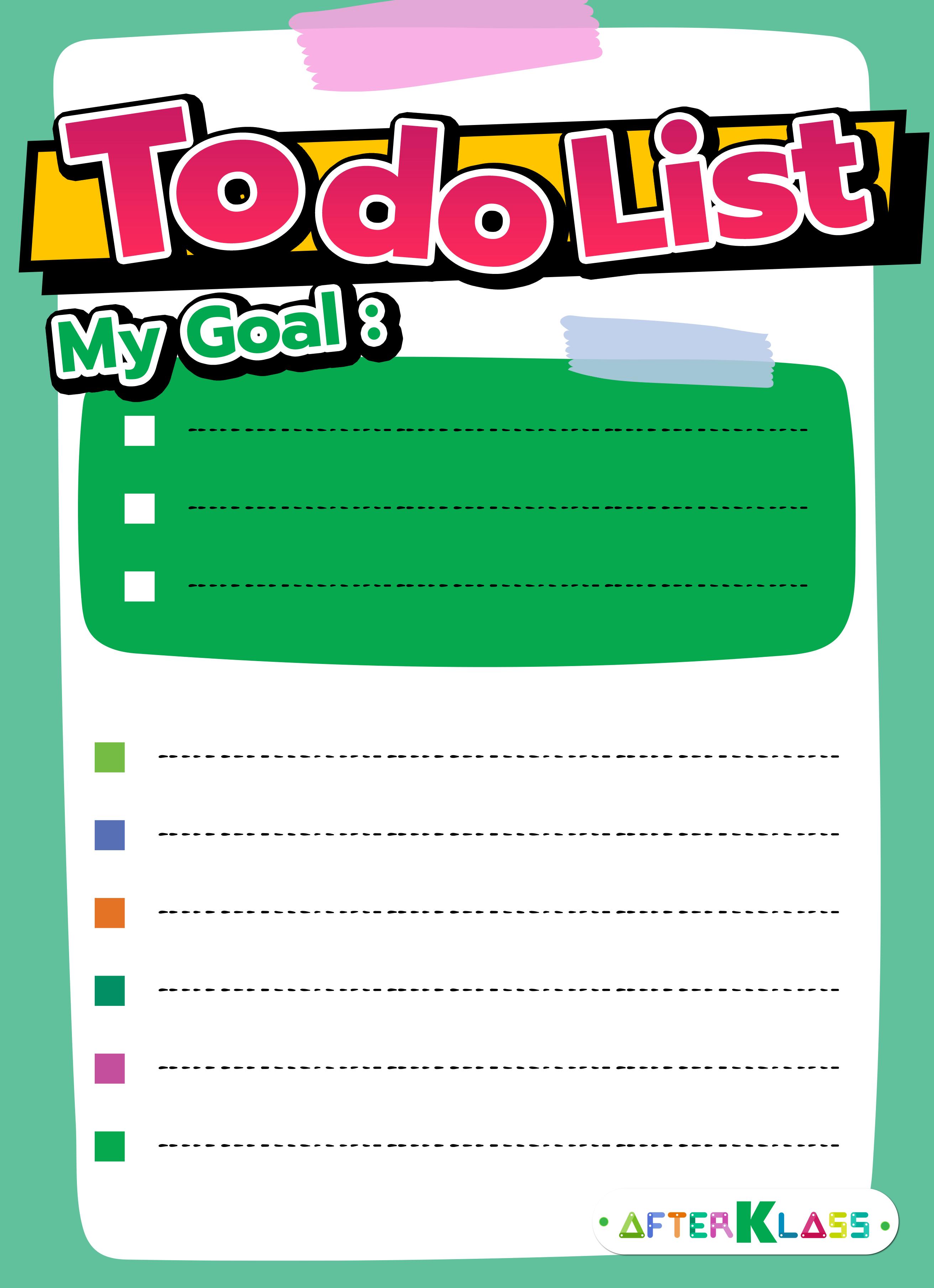 แอป to do list