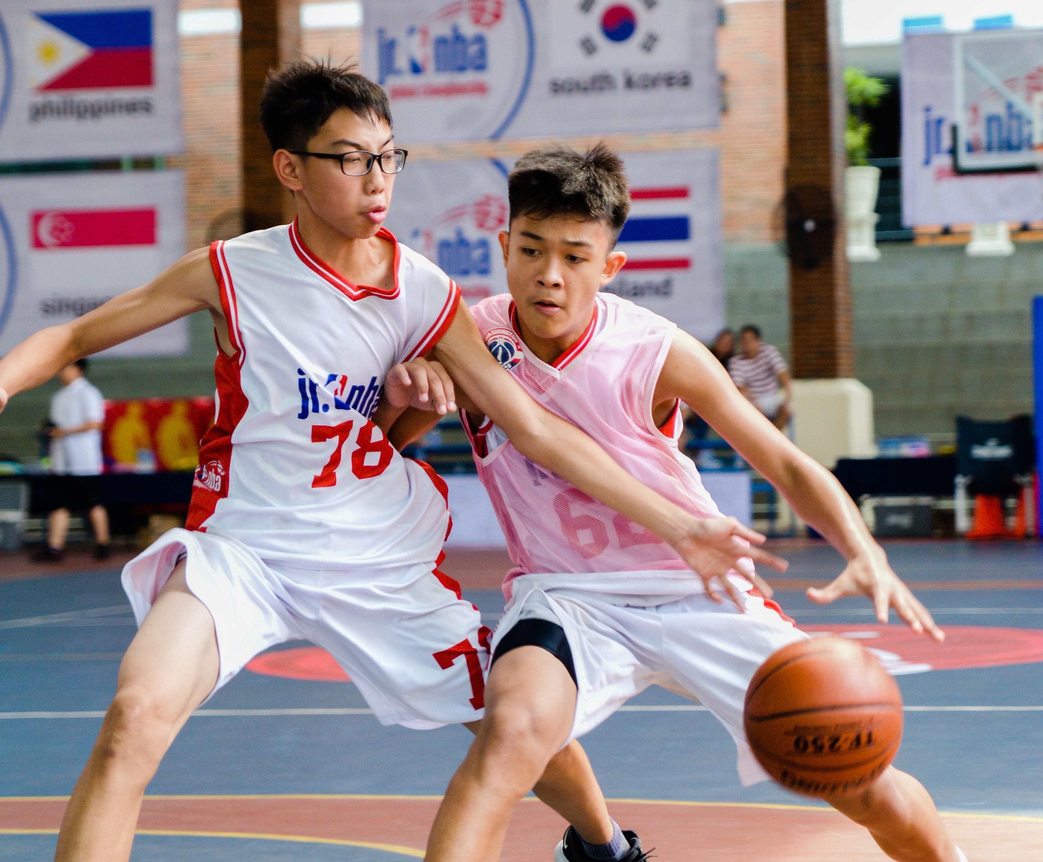 Hội trại tuyển chọn Jr.NBA khu vực Châu Á Thái Bình Dương)