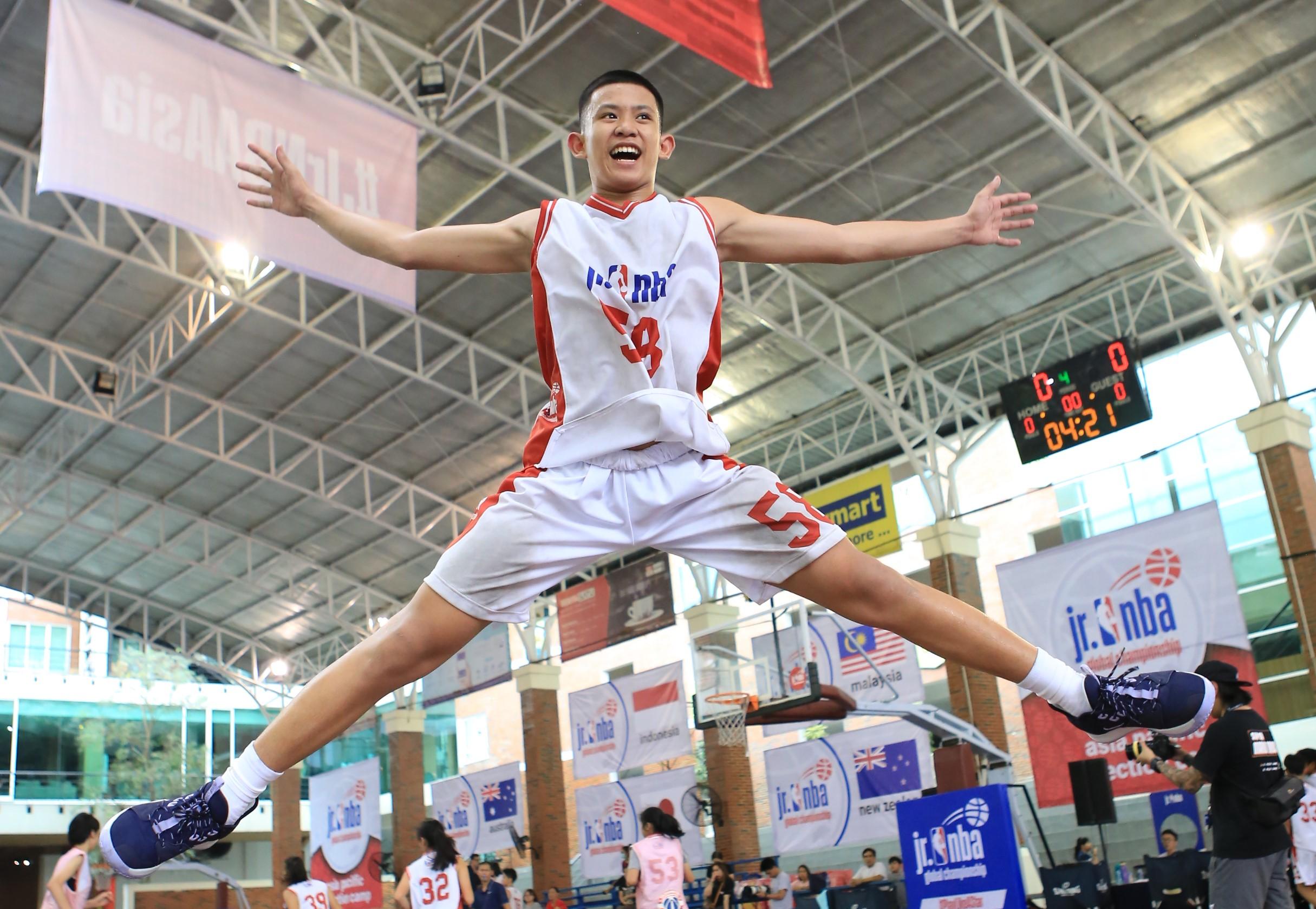 Hội trại tuyển chọn toàn quốc Jr.NBA tại Việt Nam)