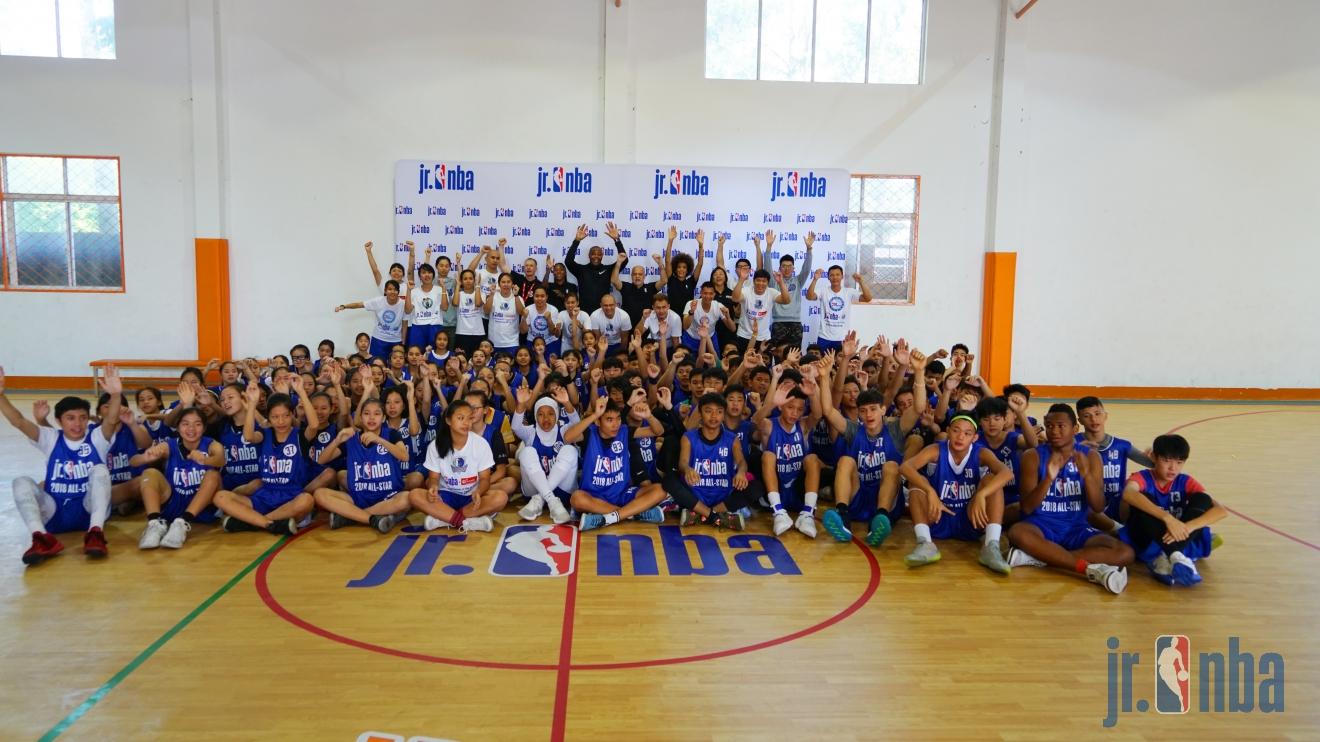 2018 Jr. NBA: All-Stars With Caron Butler