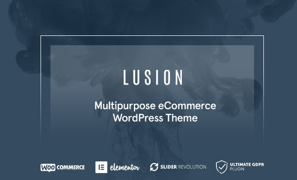 Lusion - Multipurpose eCommerce WordPress theme: Perfect for e-shops