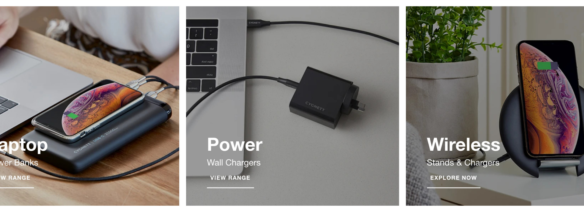 Cables, Smartphone Accessories Shopify Ecommerce Site