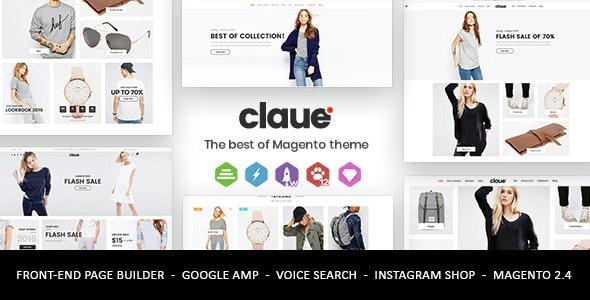 Discount 30% Claue Magento theme and Lusion wordpress theme