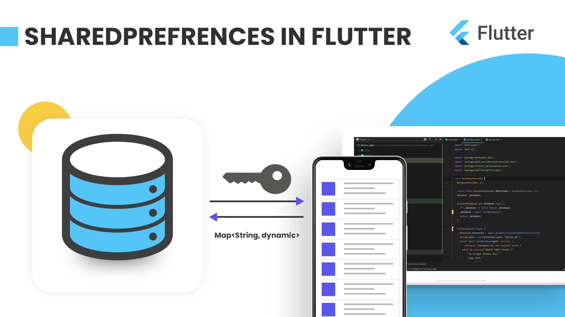 Flutter sharedpreferences