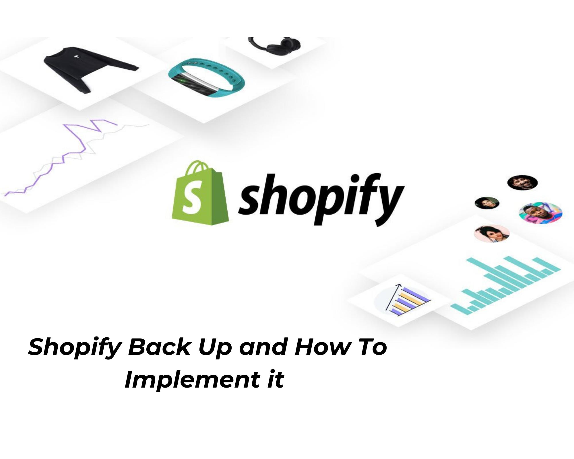 Shopify backup