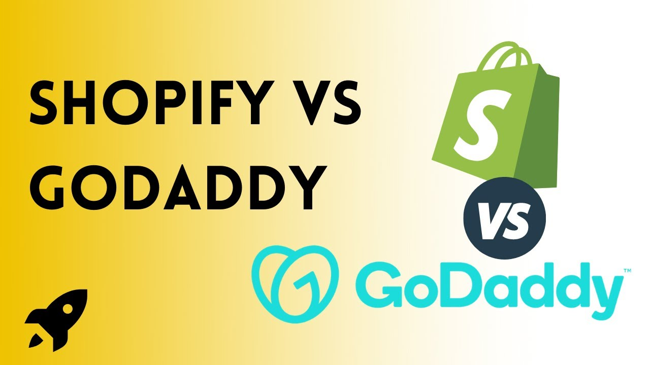 Which is better between Shopify vs godaddy?