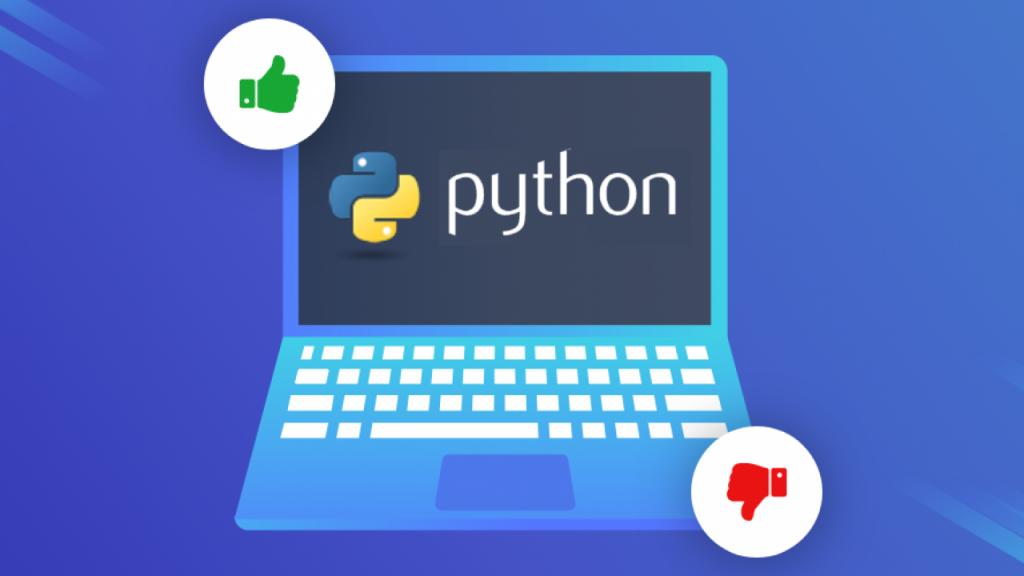 key points of Python advantages and disadvantages