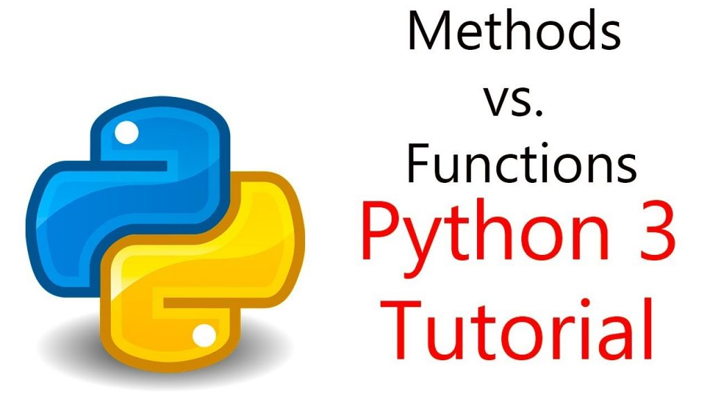 Key differences between Python methods vs functions