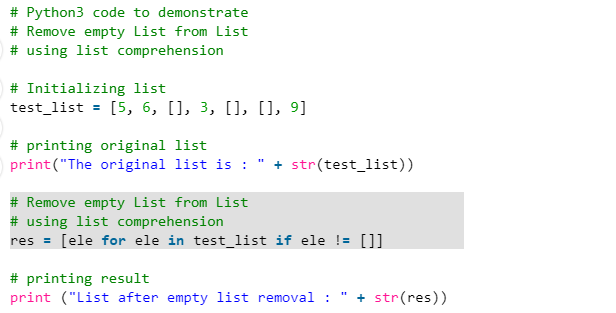example Python