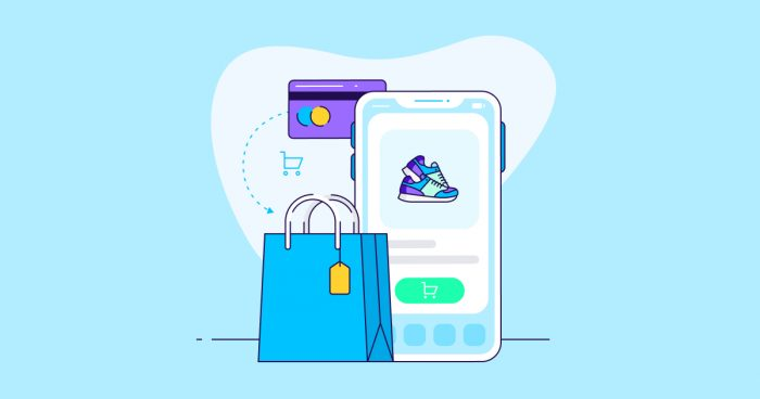 how to create shopping app in Android