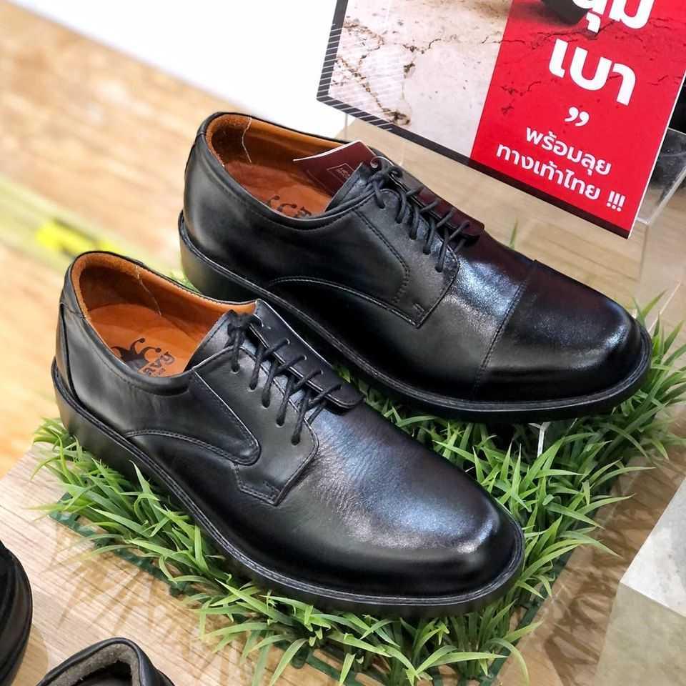 รองเท้าหนังผู้ชายแบบผูกเชือก