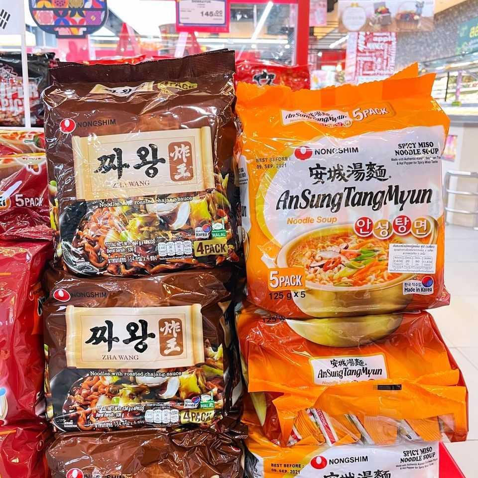 บะหมี่เกาหลีแพ็ค