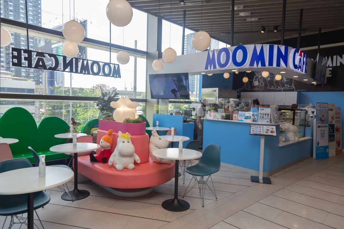 Moomin Cafe 1