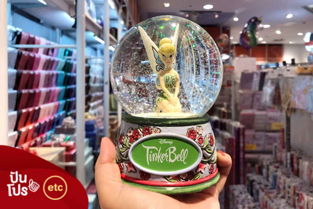 Disney Fairies Tinkerbell Snow Globe ลดเหลือ 1,485.-