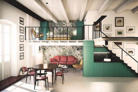 Apa itu Mezzanine dan Tips Menghadirkan Mezzanine untuk Rumah Baru? -  Artikel SpaceStock %
