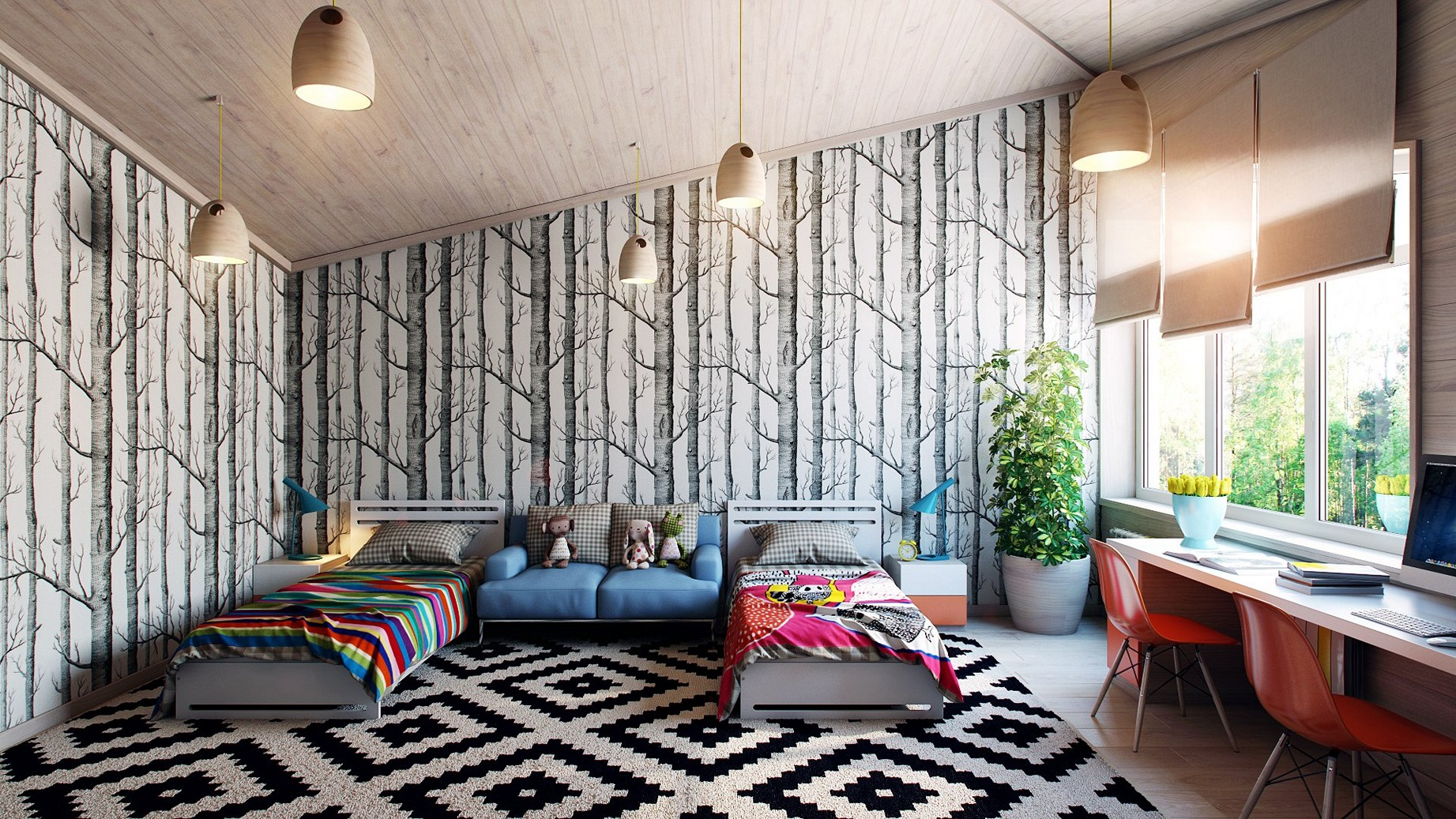 Desain Wallpaper Apartemen