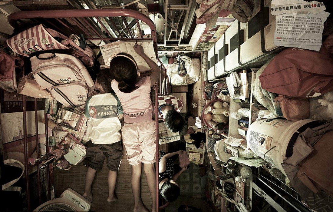 Apartemen Kumuh di Hong Kong