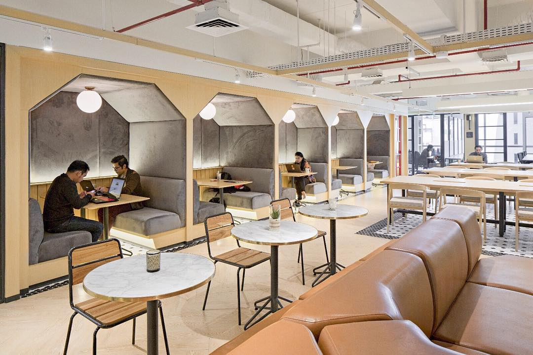Desain Coworking Space