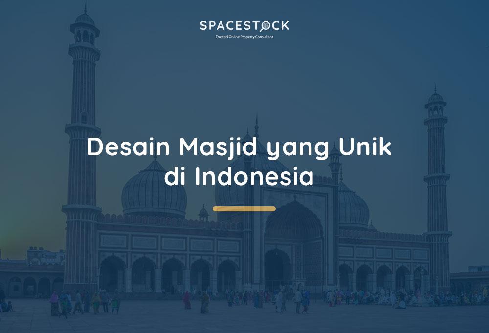 Desain Masjid Unik