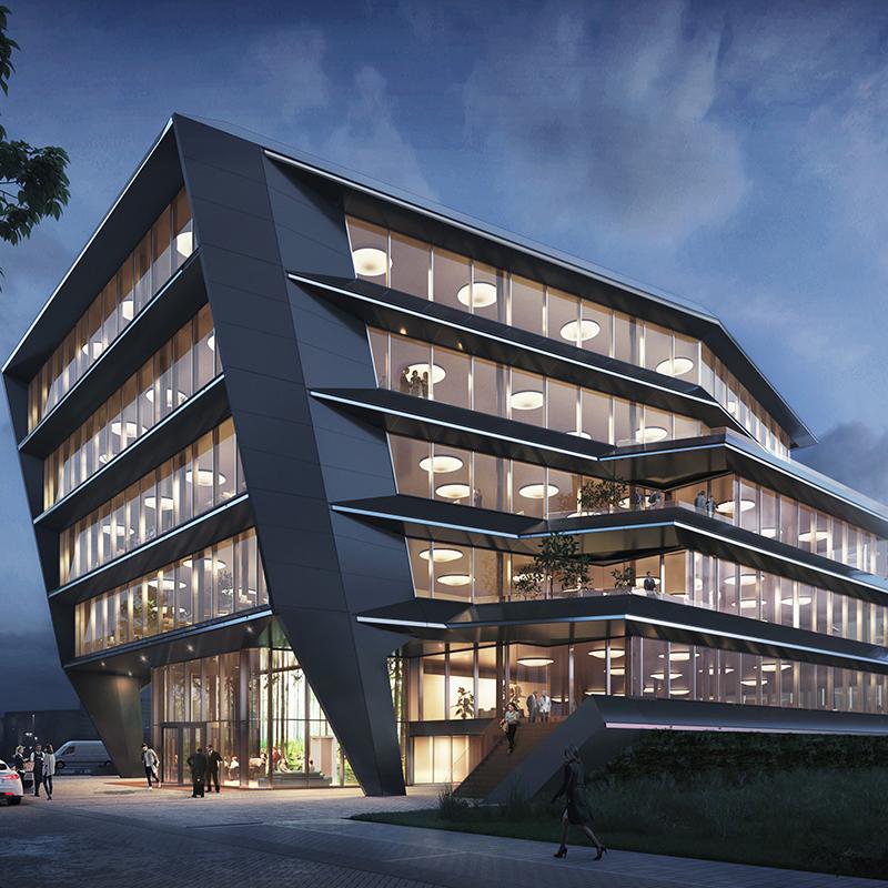 Desain Gedung Kantor Masa Depan