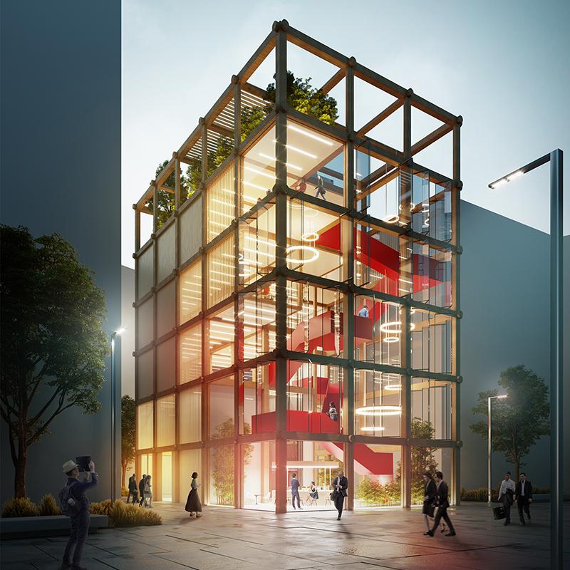 Desain Gedung Kantor di Masa Depan