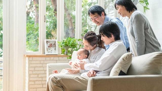 Tinggal Bersama Orang Tua