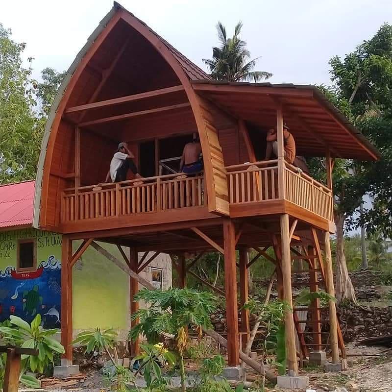Desain Rumah Kayu Minimalis Arsitek Indo Kontraktor