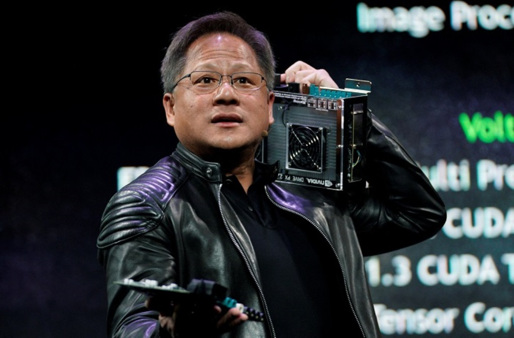 CEO Jenseng Huang