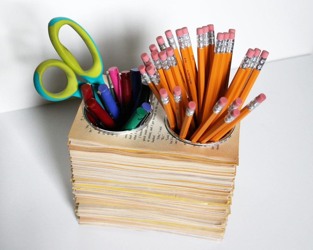 Tempat Pensil dari Barang Bekas