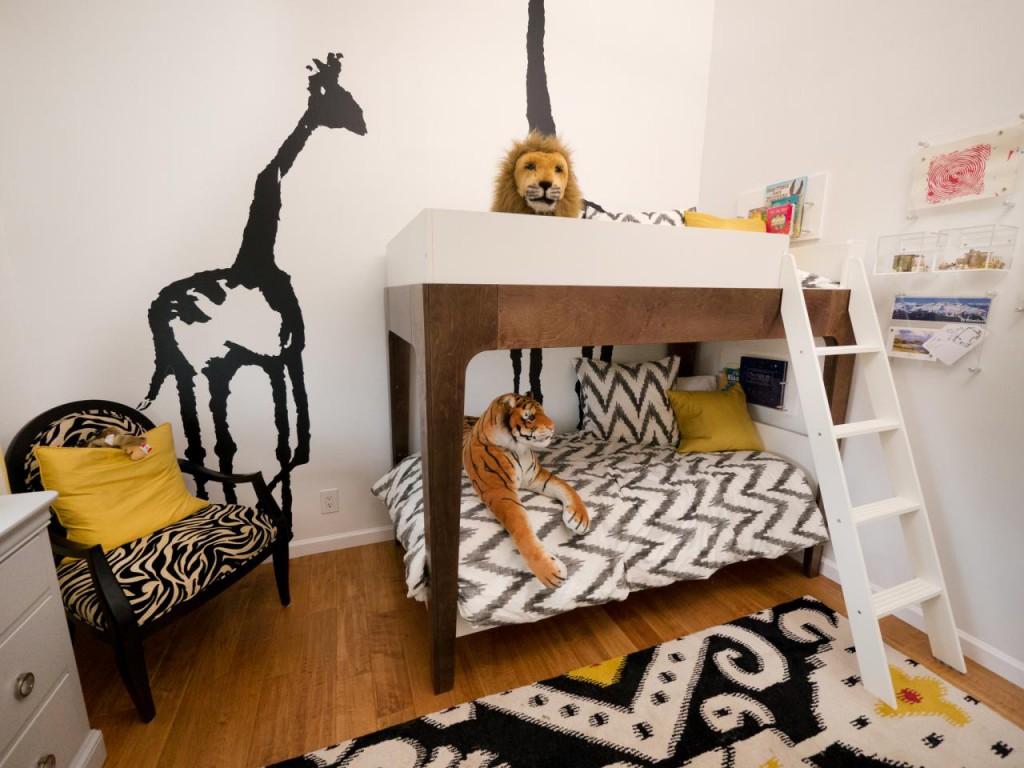 Desain Bunk Bed Tematik