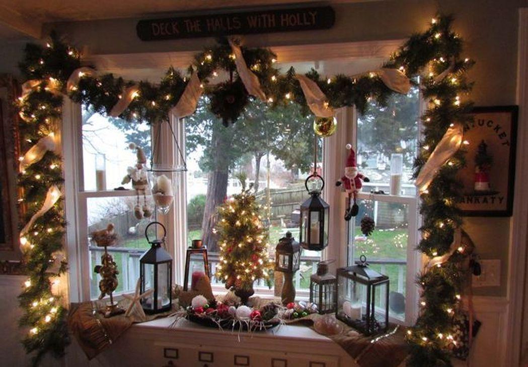 Dekorasi Jendela Natal